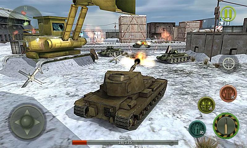 Танковый удар на андроид