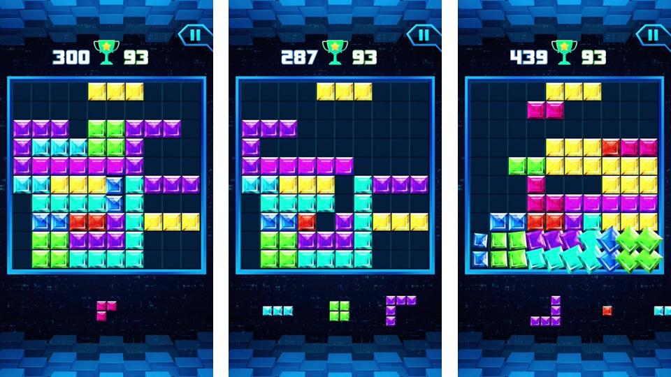 Block Puzzle Classic Plus на телефон