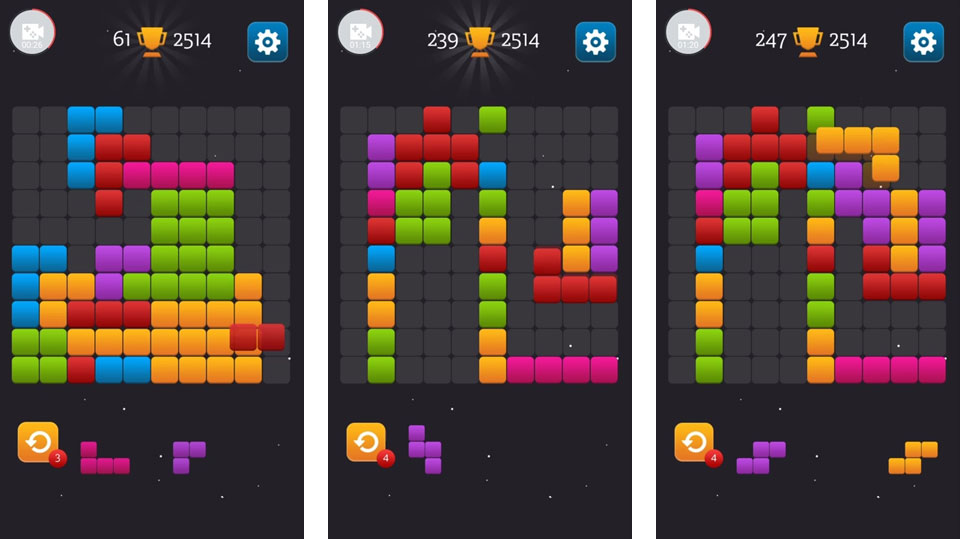 Block Puzzle Mania на телефон