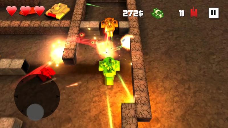 Block Tank Wars на андроид
