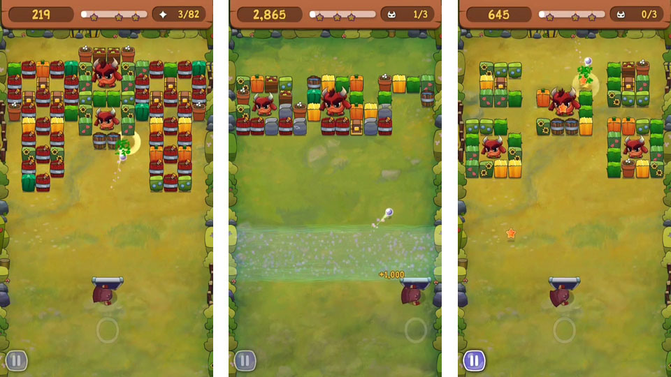 Brick Breaker Hero на телефон