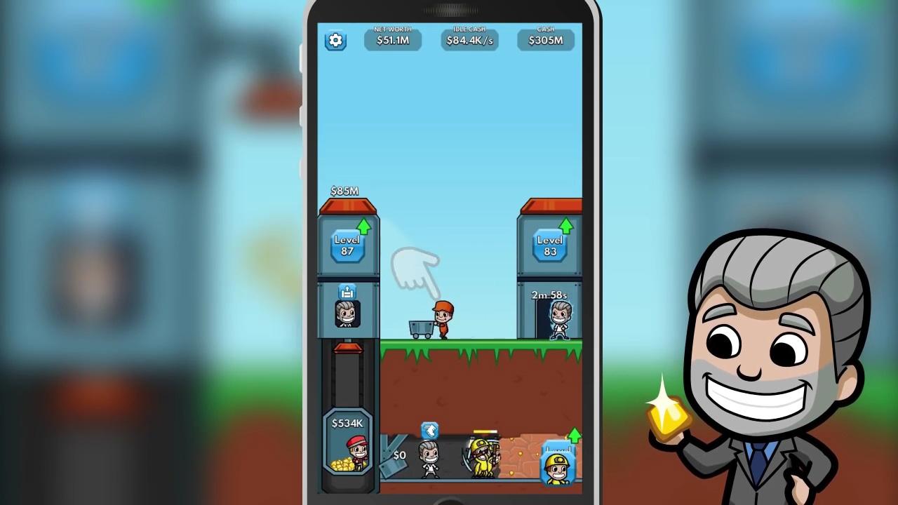 Idle Miner Tycoon на андроид
