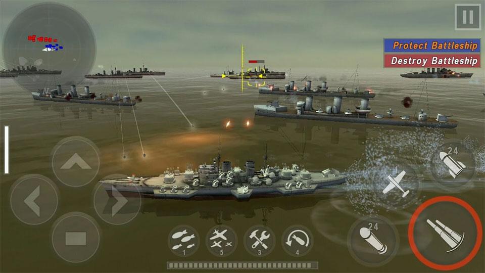 Морская битва: Мировая война на андроид