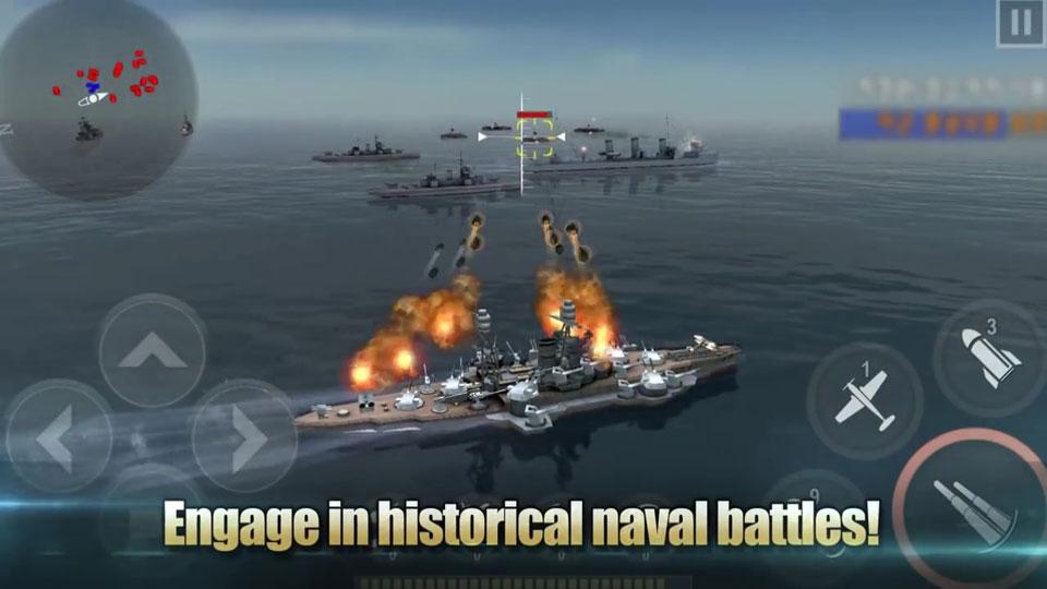 Морская битва: Мировая война на телефон