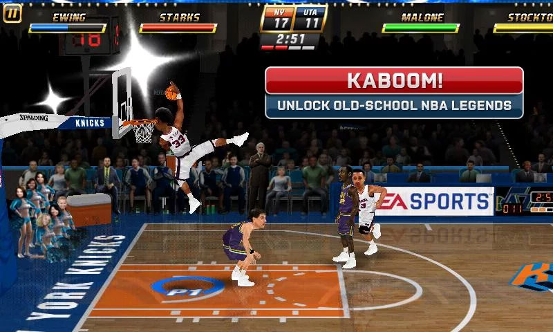 NBA JAM на телефон