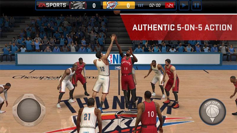 NBA Live Mobile скачать