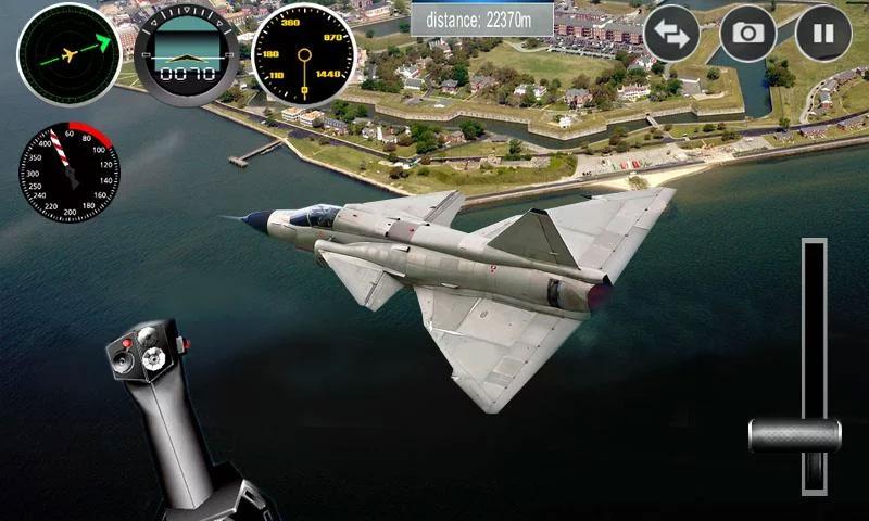 Plane Simulator на андроид