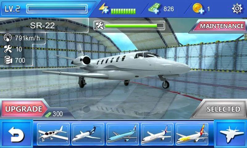 Plane Simulator на телефон