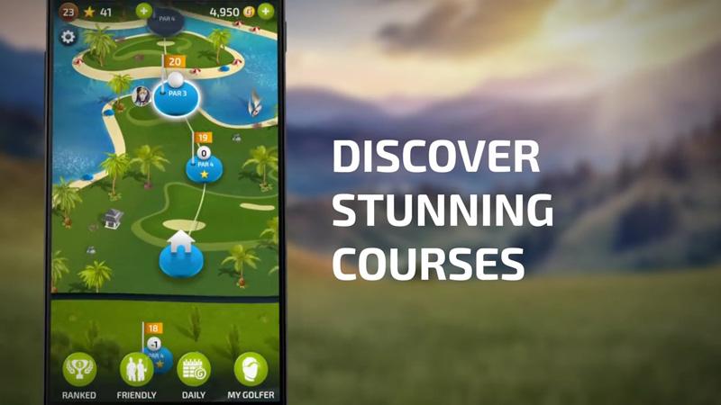 Pro Feel Golf на телефон