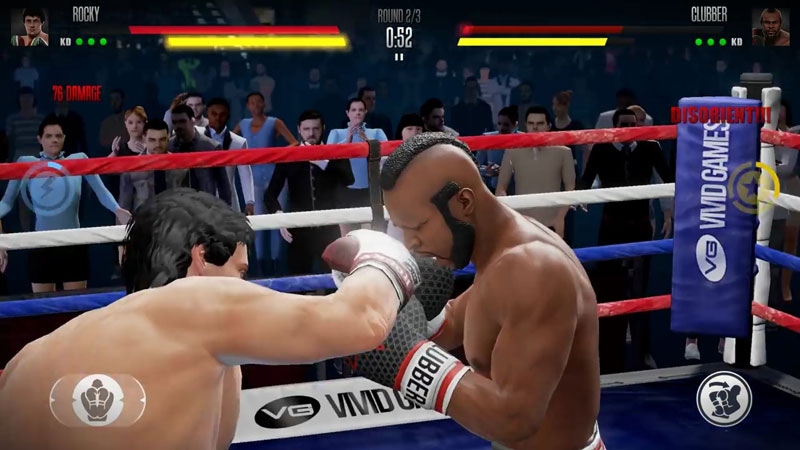 Real Boxing 2 Rocky на телефон