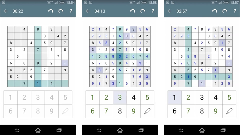 Sudoku на андроид