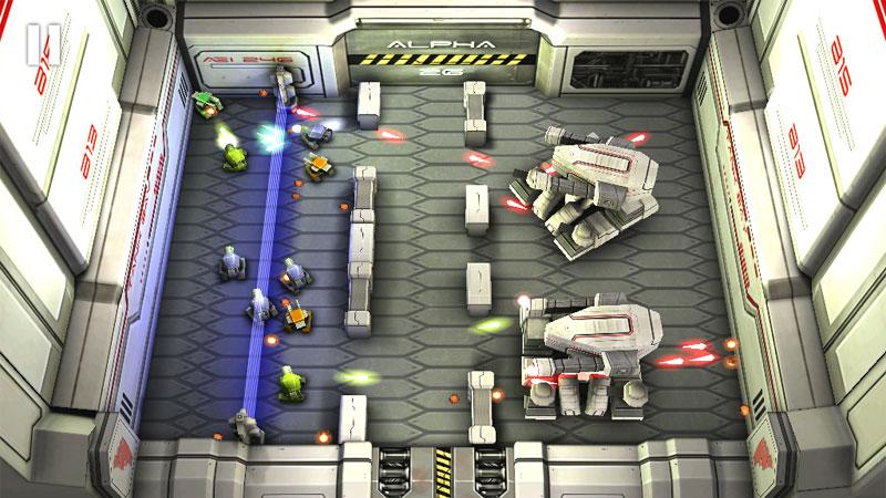Tank Hero Laser Wars на телефон