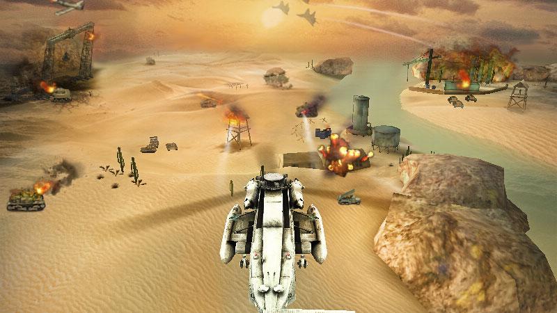 Вертолетная атака 3D скачать