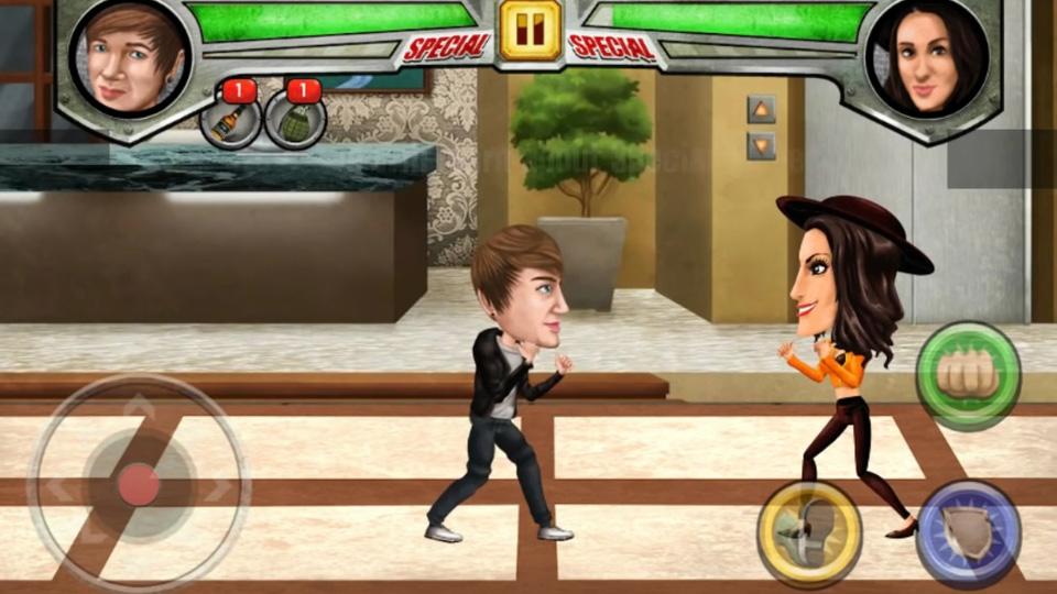 Celebrity Street Fight на телефон