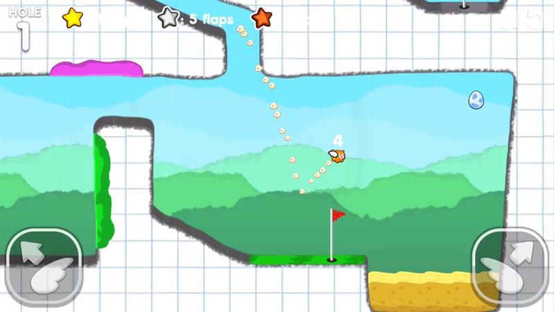 Flappy Golf 2 на телефон