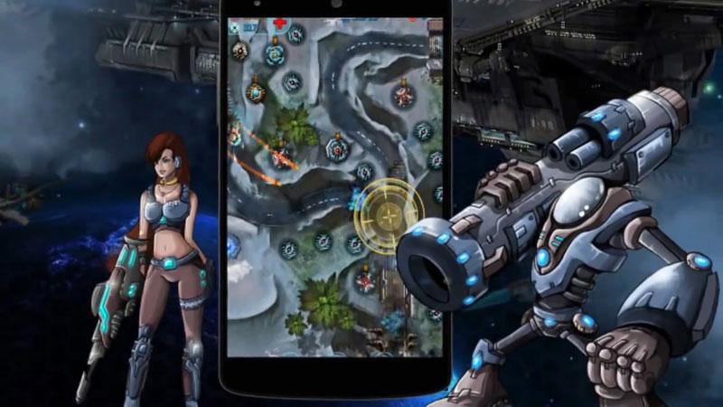 Galaxy Defense 2: Transformers на андроид