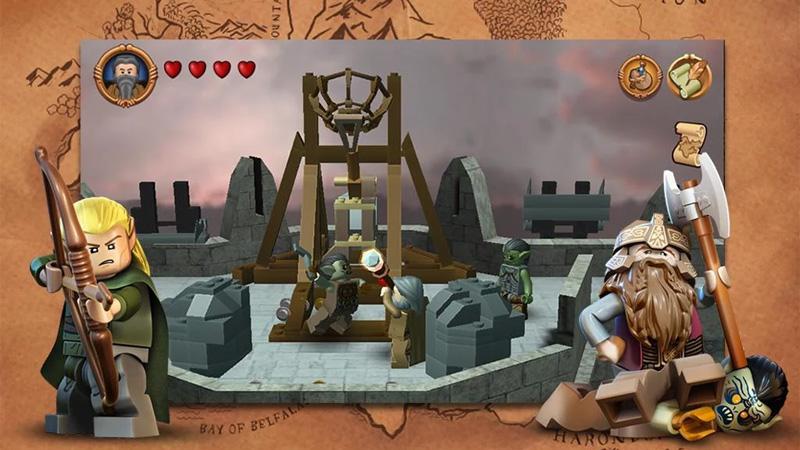 LEGO Властелин Колец скачать