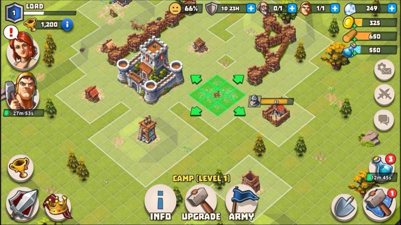 Lords & Castles на андроид