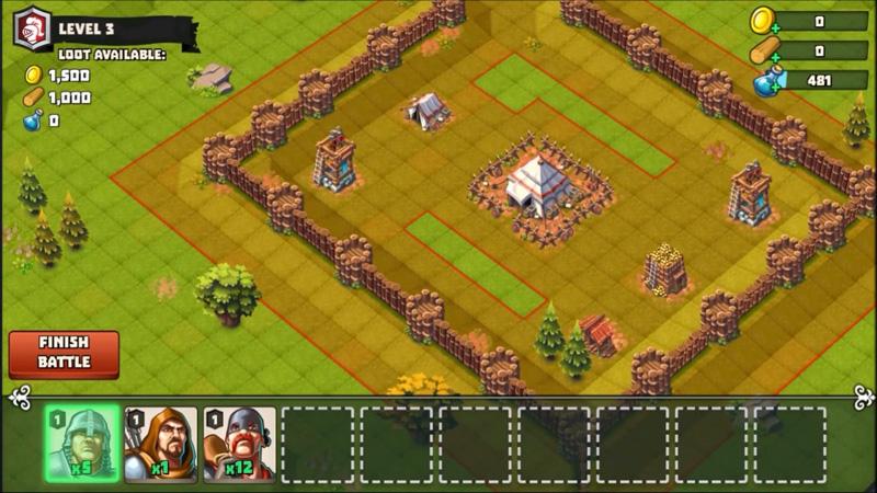 Lords & Castles на телефон
