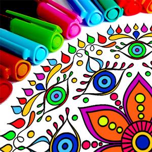 Раскраски Мандала
