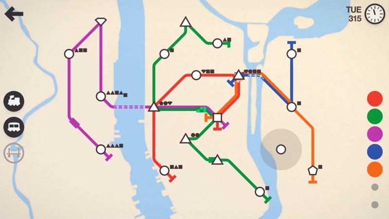 Mini Metro на андроид