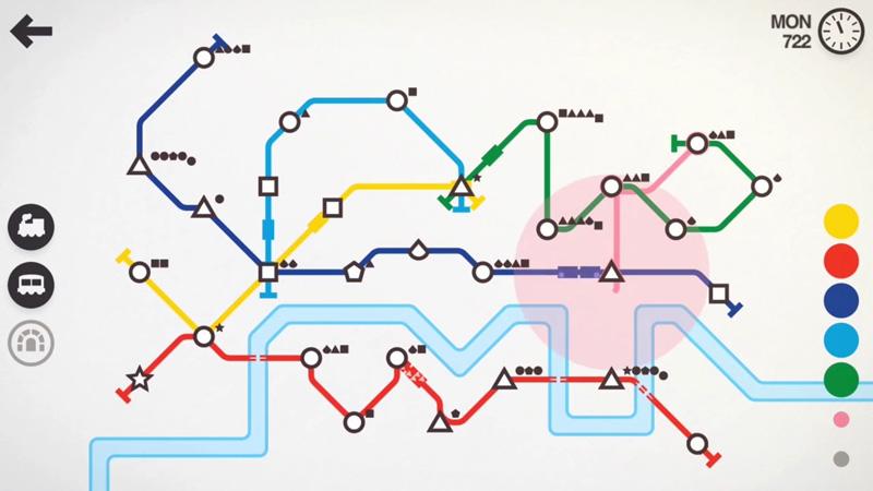 Mini Metro на телефон