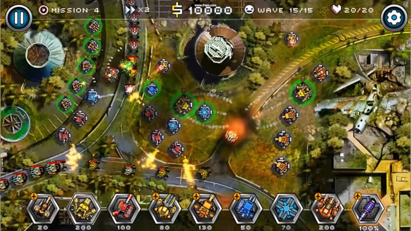 Tower Defense Zone 2 на андроид