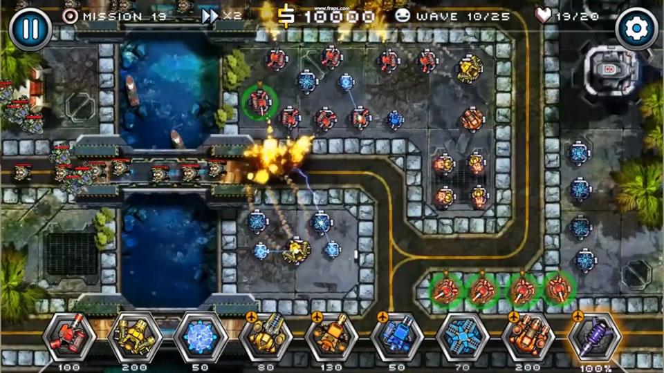 Tower Defense Zone 2 на телефон
