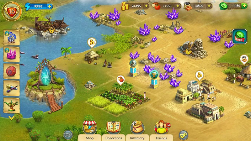 Cradle of Empires на телефон