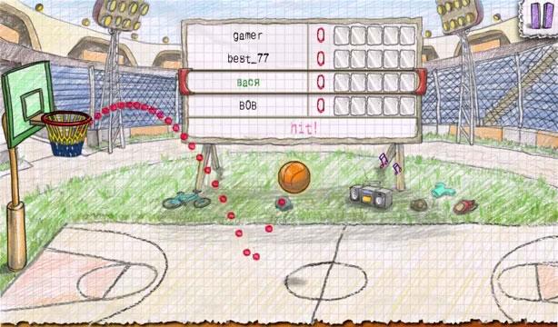 Doodle Basketball 2 на телефон