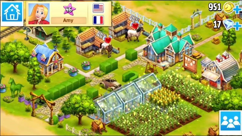 Horse Haven World Adventures на телефон