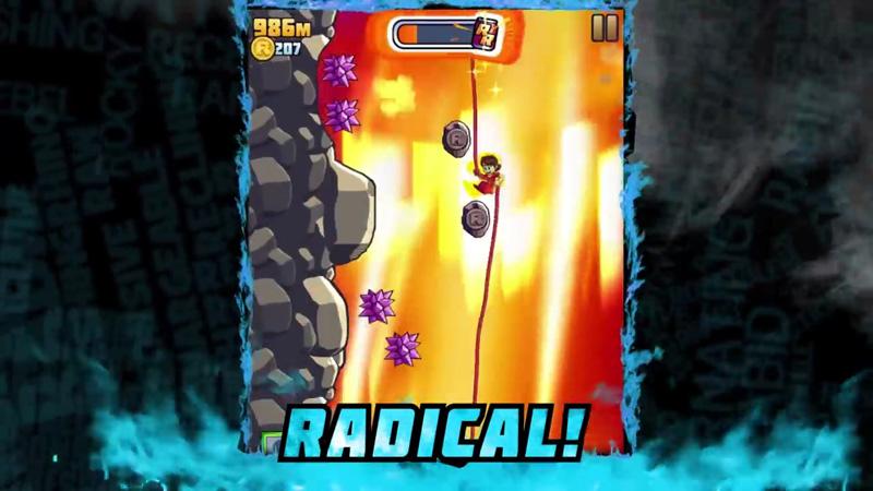 Radical Rappelling на андроид