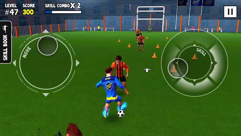 SkillTwins Football на андроид