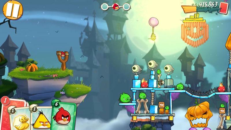 Angry Birds 2: Хэллоуин скачать