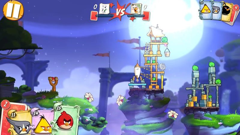 Angry Birds 2: Хэллоуин на телефон