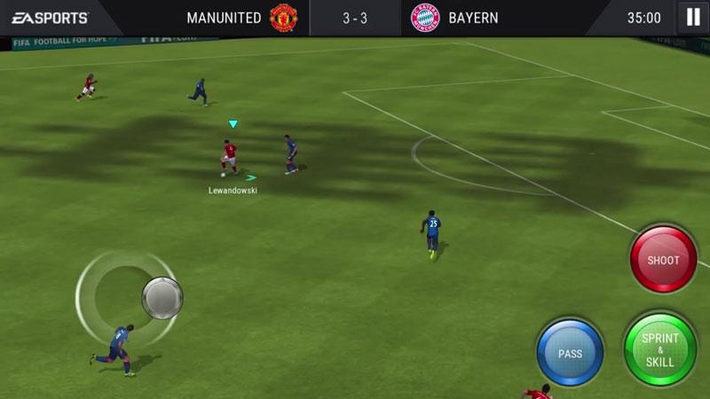 FIFA Mobile: Футбол на андроид