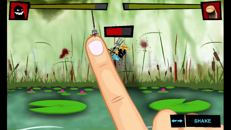 Finger vs Farmers на андроид