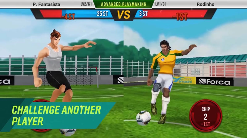 Football Saga Fantasista на телефон