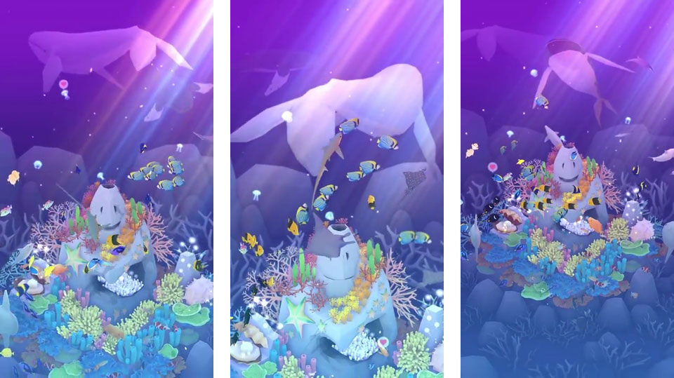 Глубоководный аквариум на андроид