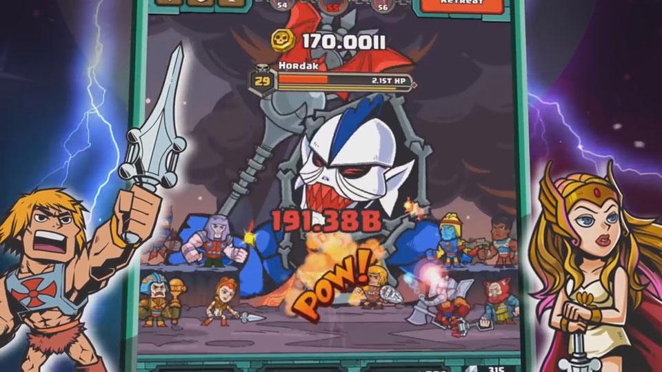 He-Man Tappers of Grayskull на андроид