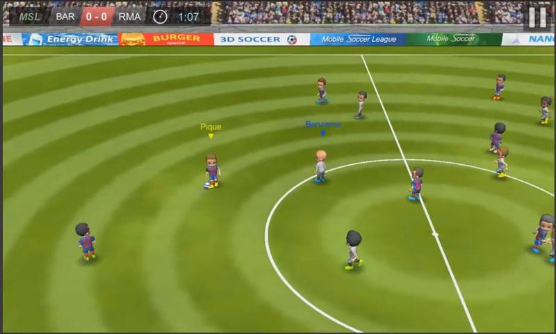 Mobile Soccer League на андроид