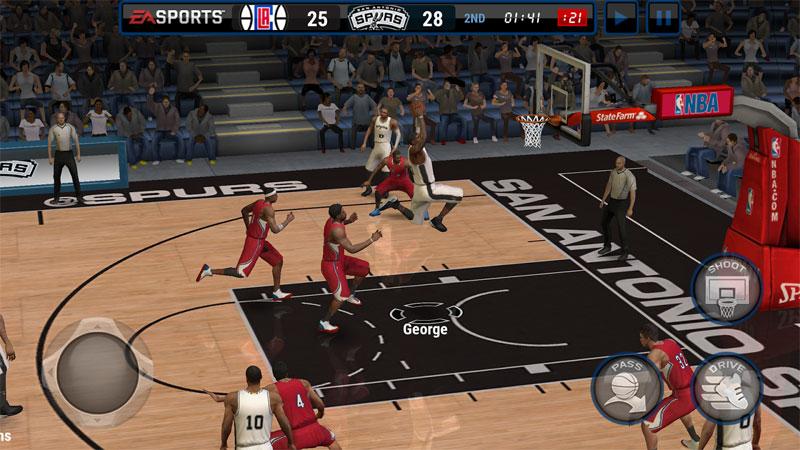 NBA Live Mobile: Баскетбол на андроид