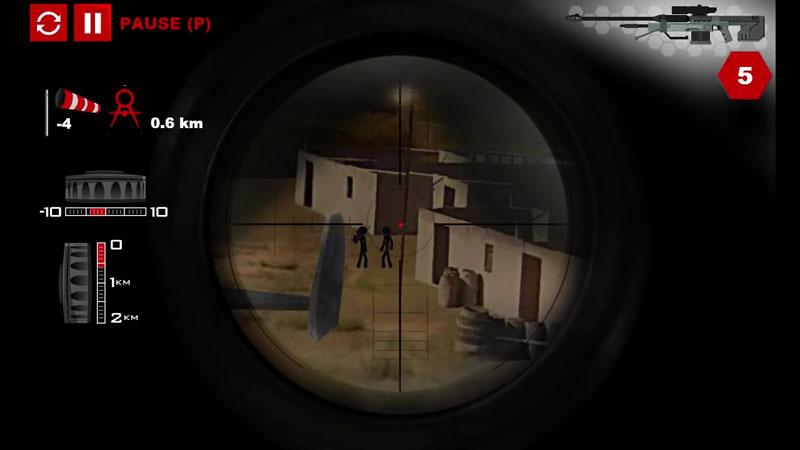 Stick Squad 4: Sniper's Eye на андроид