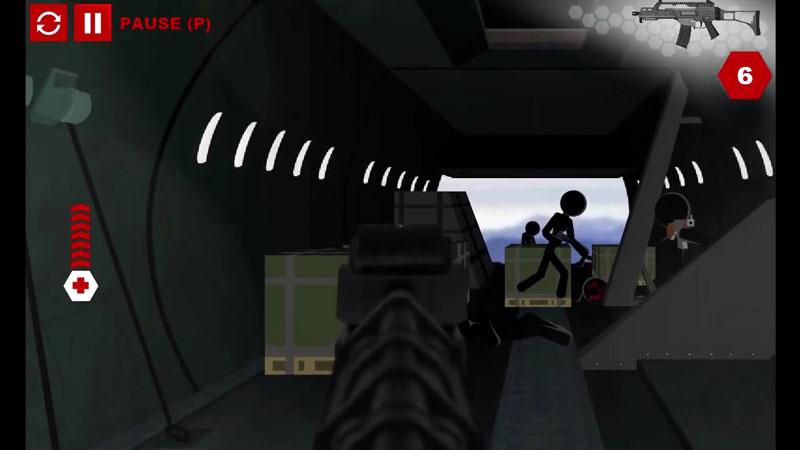 Stick Squad 4: Sniper's Eye на телефон