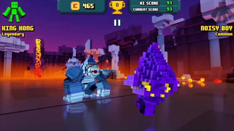 Super Pixel Heroes на андроид