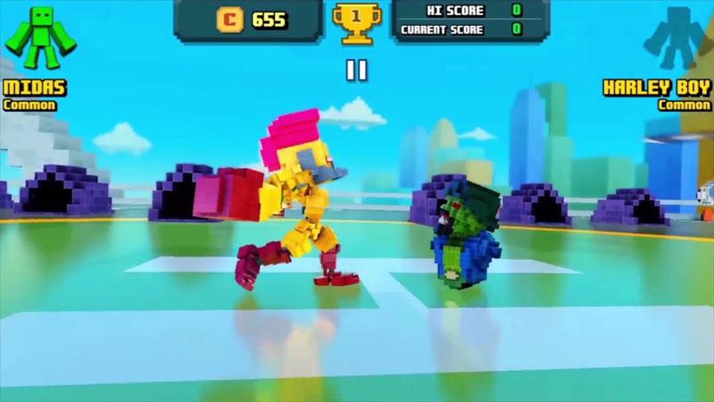 Super Pixel Heroes на телефон