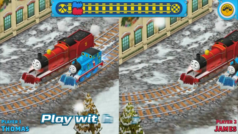 Наперегонки с Томасом! на андроид