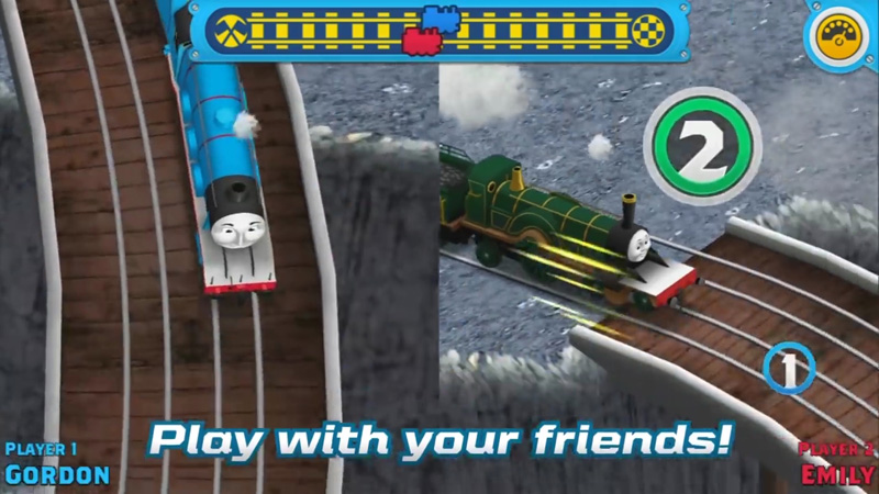 Наперегонки с Томасом! скачать