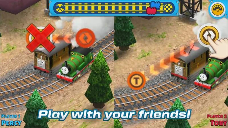 Наперегонки с Томасом! на телефон