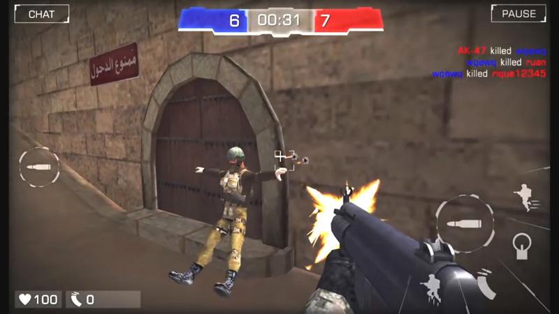 Bullet Party CS 2: Go Strike на андроид